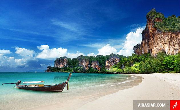 vé máy bay đi Thái Lan hãng Air Asia