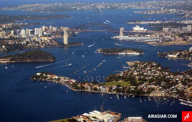 Vé máy bay giá rẻ đi Úc hãng Air Asia