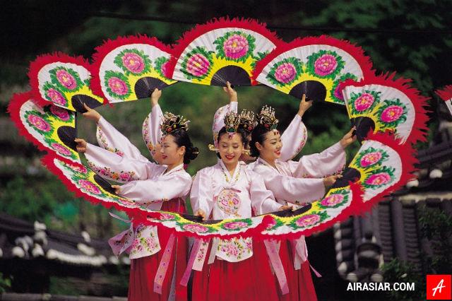 Vé máy bay Air Asia đi Hàn Quốc