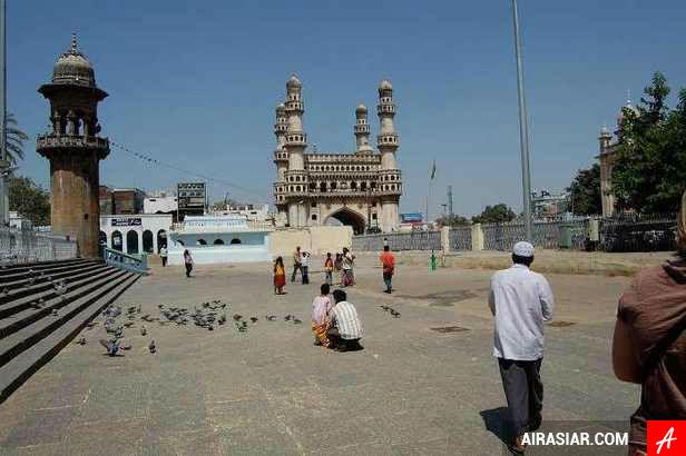Đặt mua vé máy bay giá rẻ đi Hyderabad