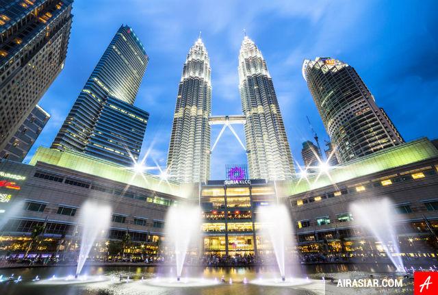 Mua vé máy bay đi Malaysia giá rẻ hãng Air Asia