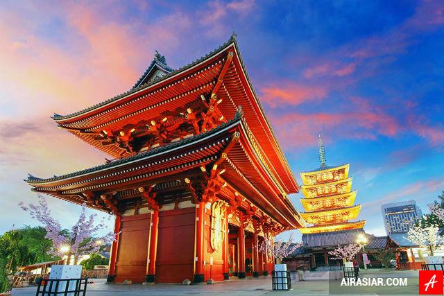 Mua vé máy bay đi Nhật Bản giá rẻ