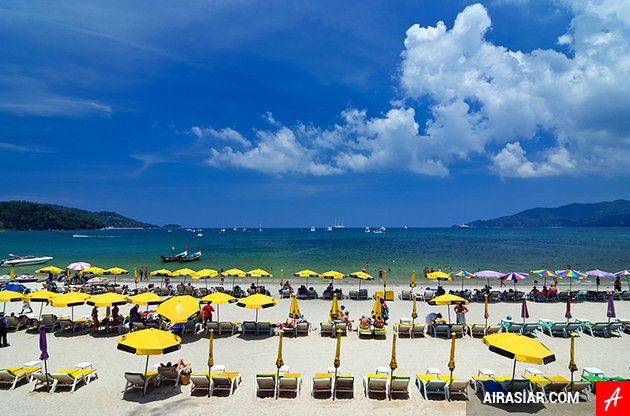 Du lịch Phuket cùng vé máy bay Air Asia