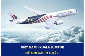 Vé máy bay đi Kuala Lumpur hãng Air Asia giá rẻ nhất