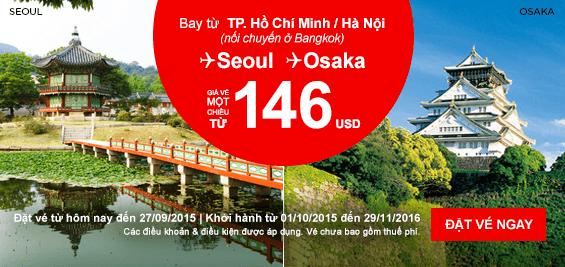 Mua vé máy bay giá rẻ nhất hãng Air Asia tại Vietnam Booking
