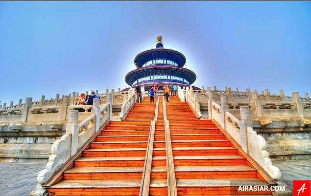 Mua vé máy bay đi Bắc Kinh giá rẻ hãng Air Asia