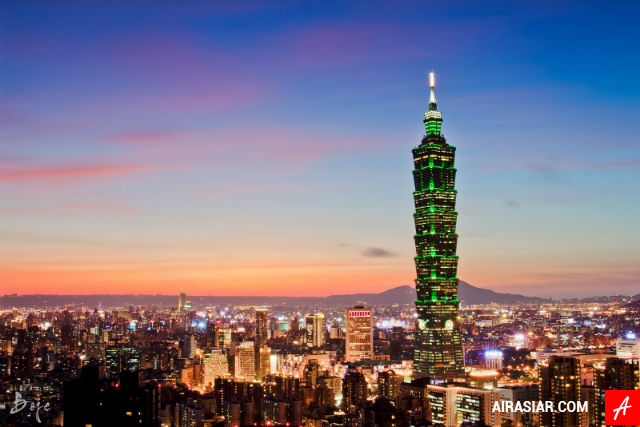 Vé máy bay Air Asia đi Đài Bắc giá rẻ