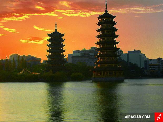 Giá vé máy bay Air Asia giá rẻ đi Hàng Châu