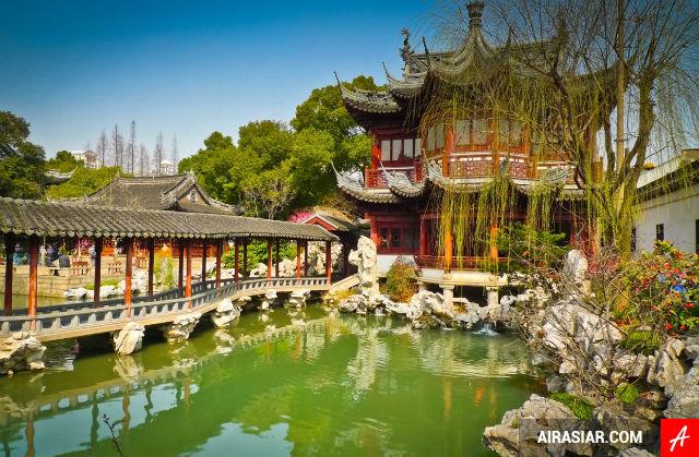 Mua vé máy bay đi Thượng Hải giá rẻ
