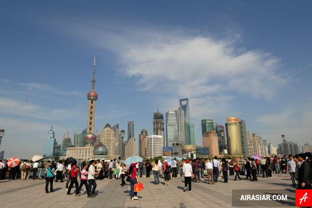 Mua vé máy bay Air Asia đi Thượng Hải