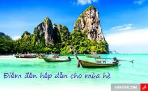 Những điểm đến mùa hè hấp dẫn tại Châu Á