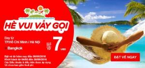 AirAsia tưng bừng khuyến mãi chào hè