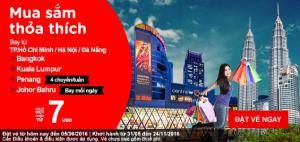 Cực sốc với khuyến mãi AirAsia – Du lịch mùa hè siêu tiết kiệm