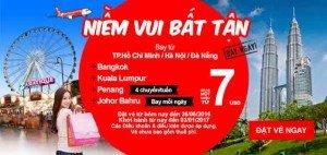 AirAsia rộn ràng khuyến mãi, rộn ràng niềm vui!