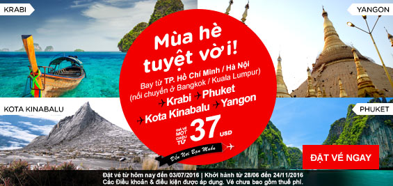 ve may bay khuyen mai airasia