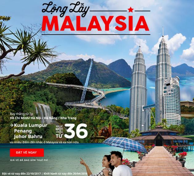 Cùng vé rẻ AirAsia khám phá vẻ đẹp Đông Nam Á