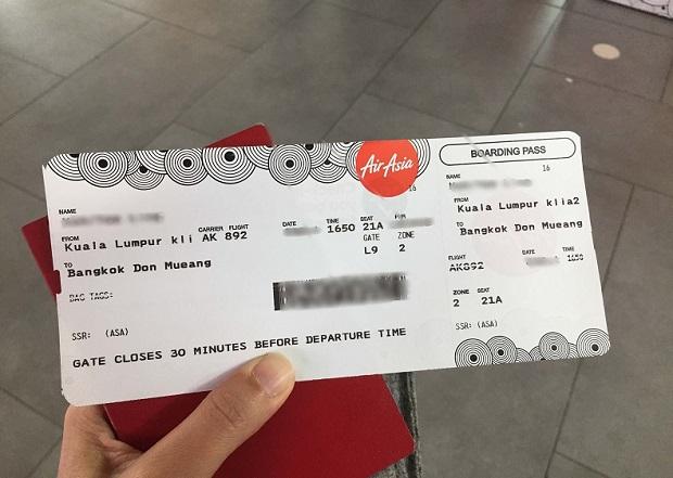 mua vé máy bay khuyến mãi hãng AirAsia