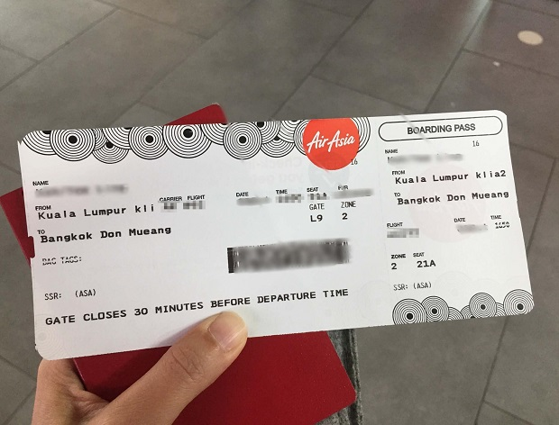 Mua vé máy bay Air Asia