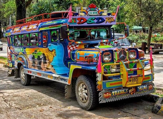 Săn vé máy bay đi Jeepney