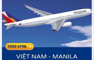 Vé máy bay đi Manila | Cập nhật lịch bay hàng tháng