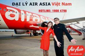 Đại lý vé máy bay Air Asia hàng đầu tại Việt Nam