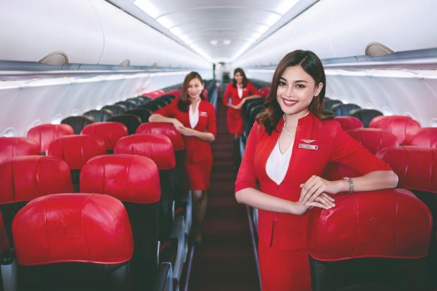 nâng hạng vé Air Asia