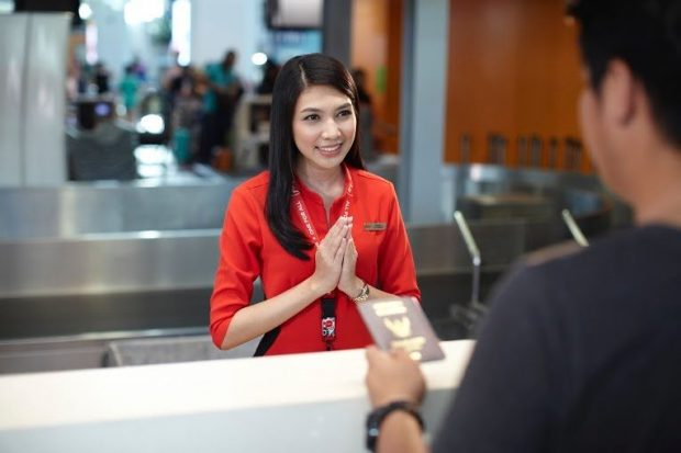 Thủ tục check in Air Asia