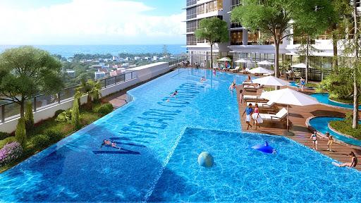 Hồ bơi Vinpearl Condotel Empire Nha Trang