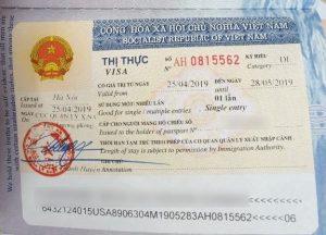 Điều kiện để được gia hạn thị thực Việt Nam