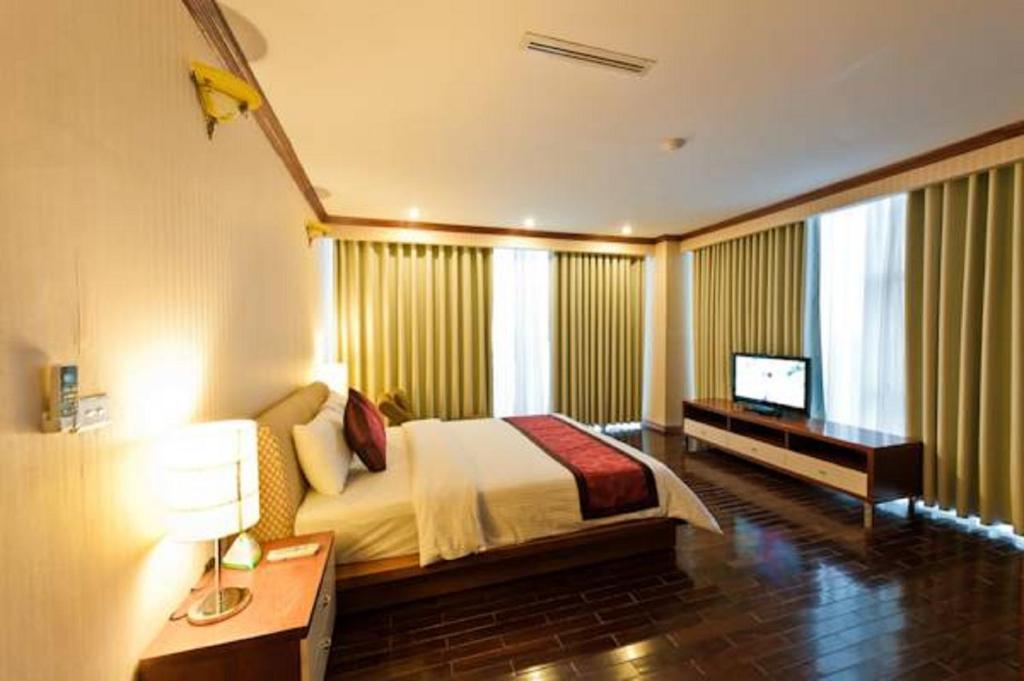 Phòng deluxe king Khách sạn mường thanh diễn châu