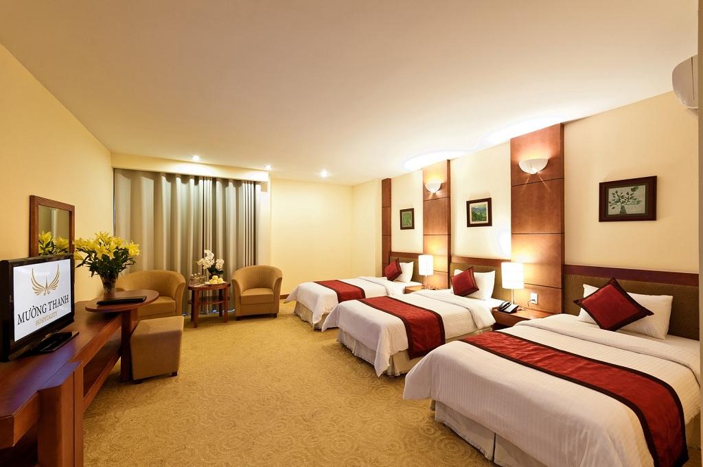 Phòng deluxe triple Khách sạn mường thanh diễn châu