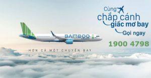 """Bamboo Airways khuyến mãi """"Mua chiều đi – tặng chiều về"""""""