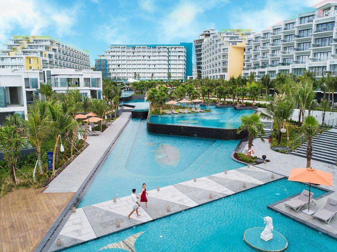 Hồ bơi Khu nghỉ dưỡng Premier Residences Phú Quốc Emerald Bay