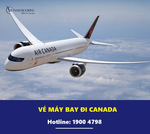 vé máy bay đi canada