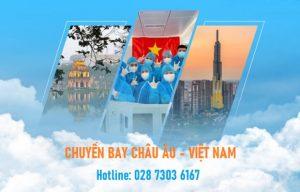 Chuyến bay từ Châu Âu về Việt Nam tháng 3 | Vé có hạn!