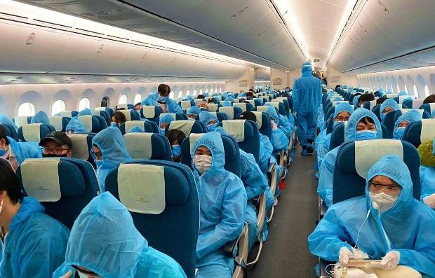 vé máy bay quốc tế về việt nam