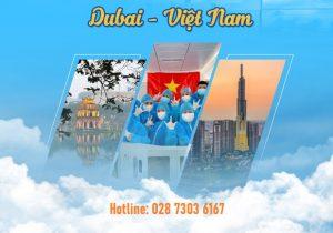Chuyến bay từ Dubai về Việt Nam | Khởi hành tháng 3
