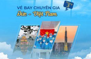 Chuyến bay từ Đức về Việt Nam mới nhất| Bay tháng 3/2021