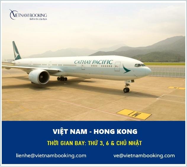 vé máy bay từ việt nam đi hong kong