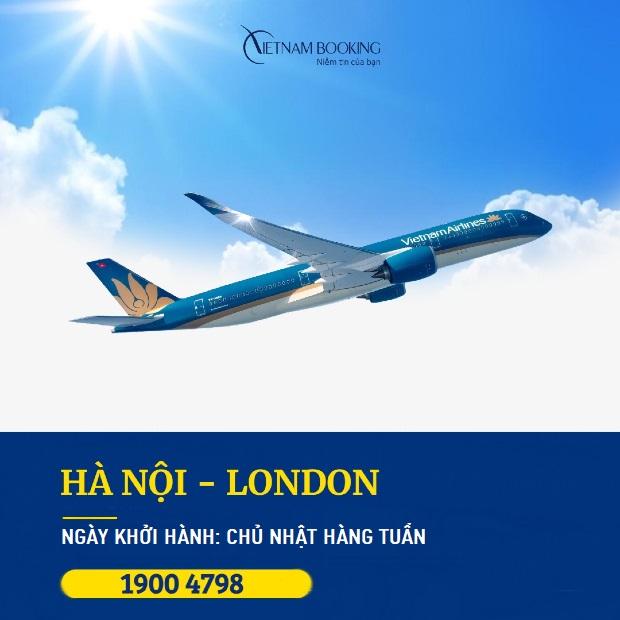 vé máy bay từ việt nam đi london