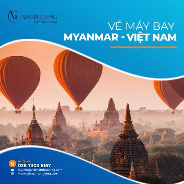 Cập nhật chuyến bay từ Myanmar về Việt Nam mới nhất