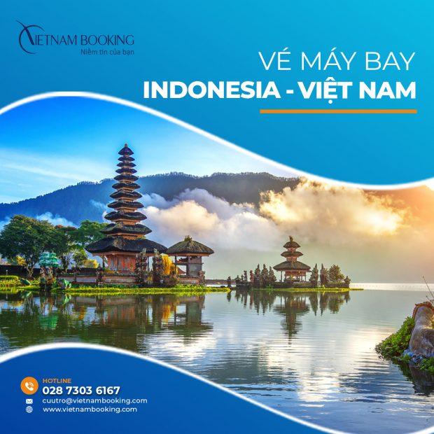 vé máy bay từ Indonesia về Việt Nam tiết kiệm