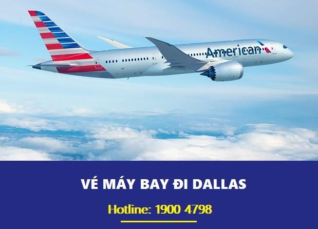 Vé máy bay đi Dallas hãng Air Asia