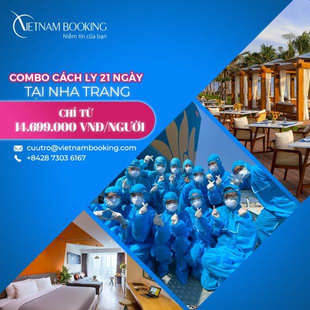 Dịch vụ cách ly khách sạn Nha Trang trọn gói