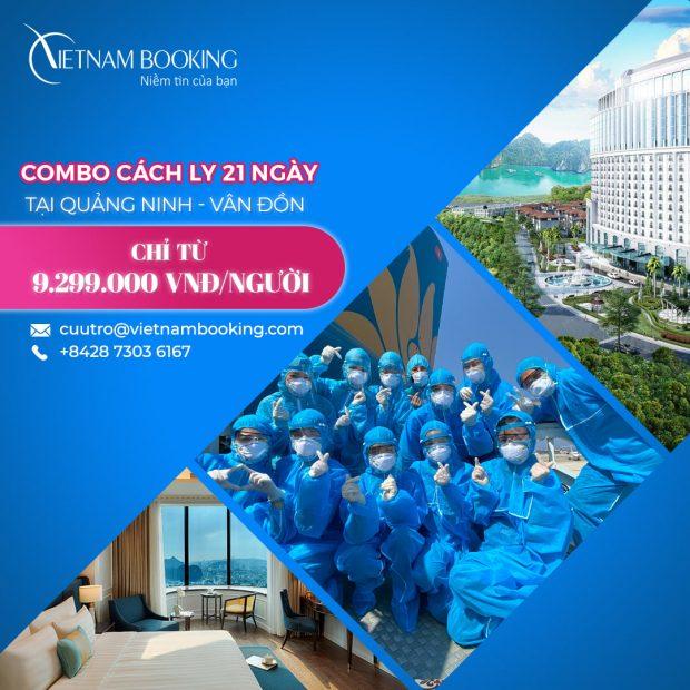 Dịch vụ khách sạn cách ly trọn gói tại Quảng Ninh - Vân Đồn
