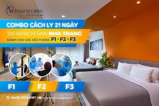 [HOT] Combo khách sạn cách ly dành cho F1 F2 F3 tại Nha Trang