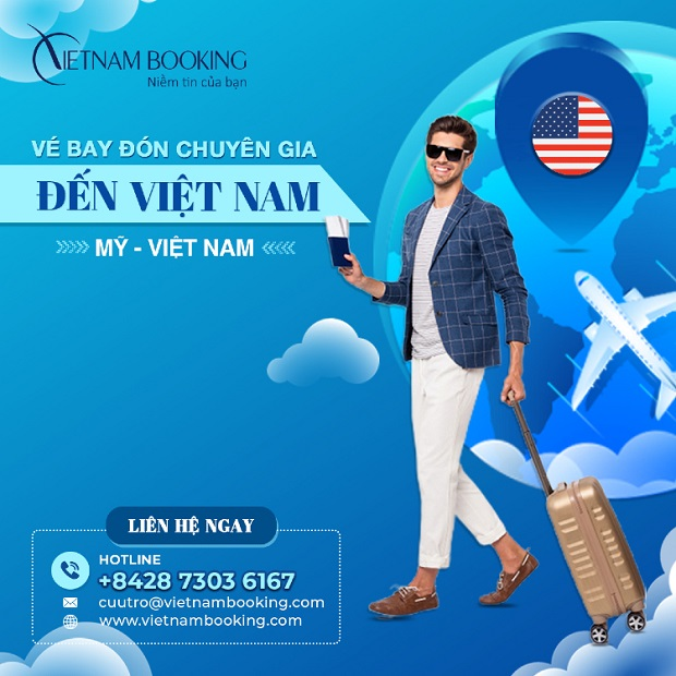 vé máy bay chuyên gia nước ngoài về việt nam