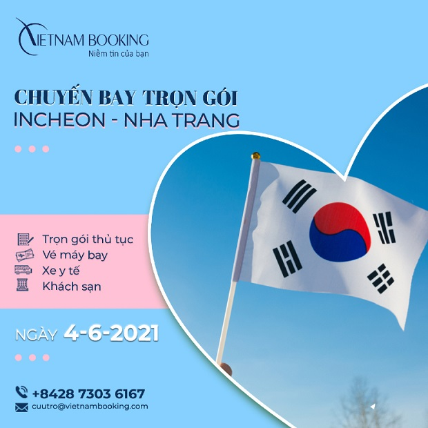vé máy bay chuyên gia nước ngoài từ seoul về sài gòn