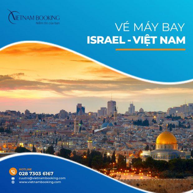 vé máy bay từ israel về việt nam