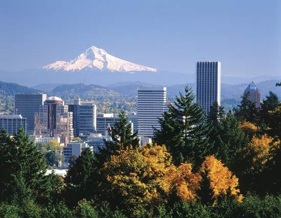 Chiêm ngưỡng vẻ đẹp của thành phố Portland Mỹ